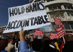 hold banks accountable